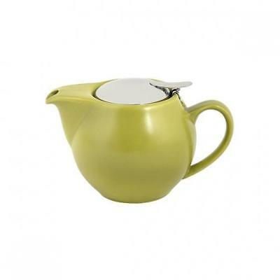 Teapot w Infuser, 350mL, Green, Bevande Tealeaves / Tea Pot / Cafe / Restaurant
