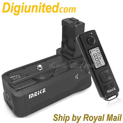 Meike MK-AR7 2.4G Remote Vertical Battery Grip for Sony NEX E A7 A7R A7S VG-C1EM