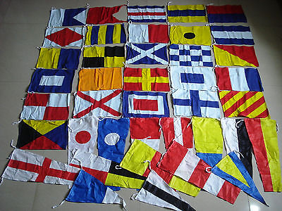 Naval Signal Flags / Flag SET- 100% COTTON - Set of Total 40 flag -FREE SHIPPING