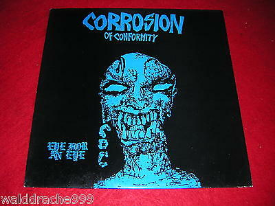 Corrosion of Conformity - Eye for an Eye, TXLP04 Vinyl LP 1985, Made in France