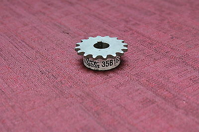 """Martin 35B16SS 5/8"""" Bore Stainless Steel Single Row Chain Sprocket New"""