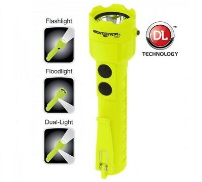 Waterproof Safety Flashlight Intrinsically Safe Bayco Nightstick Xpp-5422G Green