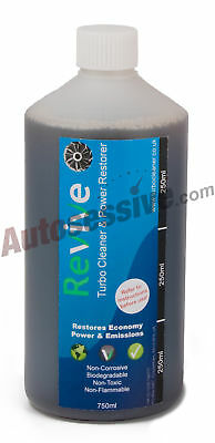 Revive Turbo Cleaner Power Restorer Fluid 750Ml Refill X 1 Petrol Diesel Engine