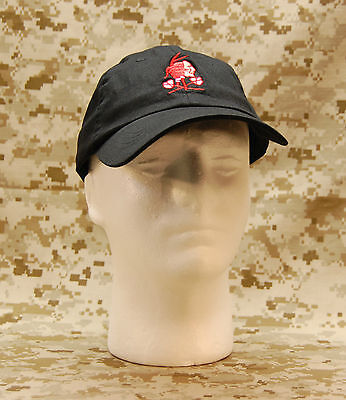 NSWDG Red Squadron Baseball Cap DEVGRU Navy SEAL Red Team Ball Cap YOUTH/SMALL