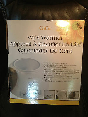 Gigi Professional Wax Warmer W/ Temp Control - For All Waxes