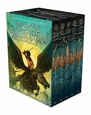 Percy Jackson and the Olympians Hardcover Boxed Set New Cover May Vary