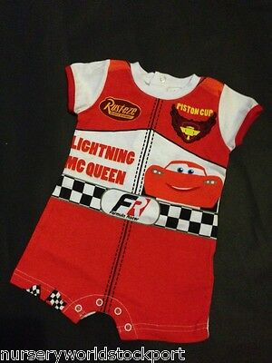 baby babies summer sunsuit cotton lightening mcqueen boys outfit holidays