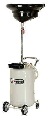 LUBEWORKS Air Operated 17 Gallon Waste Oil Drain