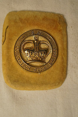 Collectable - Vintage - Elizabeth II -  Coronation June 2nd 1953 - Buckle