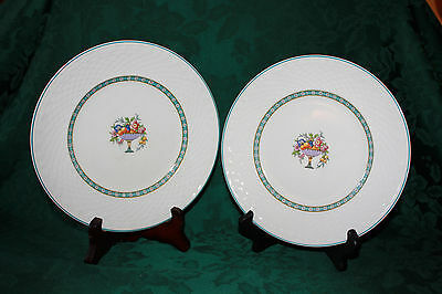 Two W.H. Grindley 8 Inch Plates in Carlisle Pattern
