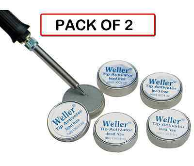 (PACK OF 2) WELLER T0051303199 TIP Tinner and Activator Cleaner, Lead Free Tip