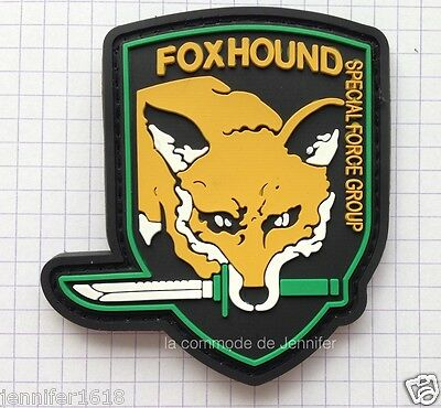 moral patch velcro pvc airsoft scratch foxhound 004