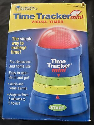 NEW Teacher Parents Learning Resources Time Tracker Mini LER6909