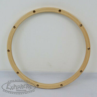 "Wood Drum Hoop 14"" 10 Lug 24 ply Wood Rim"