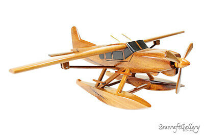 Handmade Wooden Seaplane Scale Model Airplane Replicas Hobbies Gifts Presents