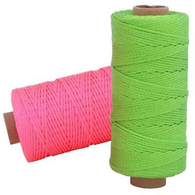 Rolson Measuring 1  x 152m Strong Brick Laying Rope Line String Building Chalk