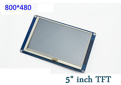 "5"" inch TFT LCD Display Module 800x480 + Touch Panel + SD For Arduino uno R3 DUE"