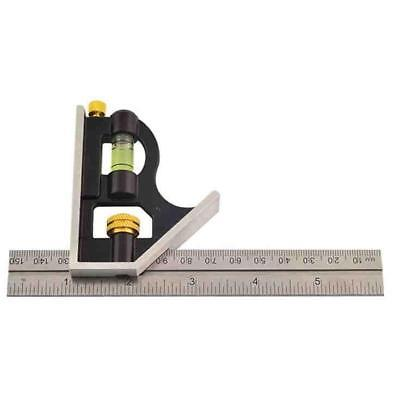 Rolson 150mm (6inch) Adjustable Sliding Metal Combination Square Set