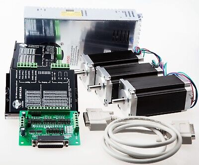 3Axis Nema 23 Stepper Motor 425oz-in &Driver  4.2A CNC Router