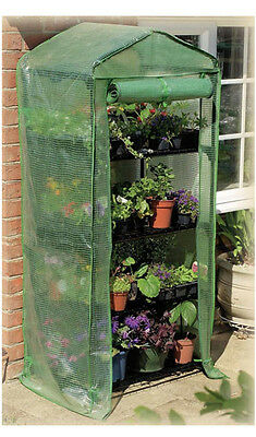 Gardman 4 Tier Growhouse Greenhouse with Reinforced Cover