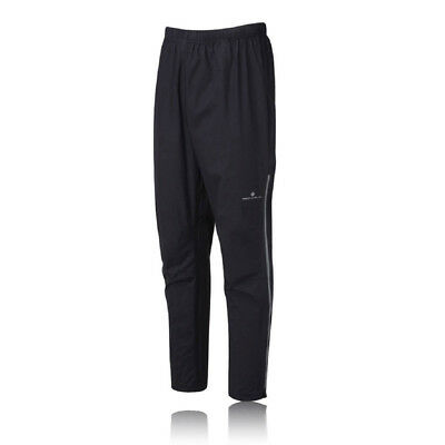 Ronhill Trail Tempest Mens Black Waterproof Windproof Running Pants Bottoms