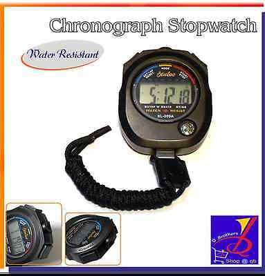 XL-009A Water Resist Chronograph Timer Stopwatch Sport Counter Digital Odometer