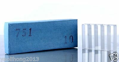 1 PCS Cuvettes 751 optical glass 10mm cell cuvette Quartz cuvettes