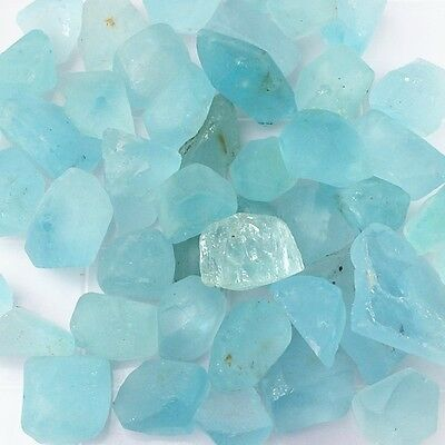 100 Carat Wholesale Lot Of Natural Earth Mined Blue Topaz Gemstone Rough