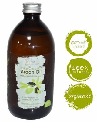 Organic Moroccan Argan Oil 100% Pure and Natural Cold pressed 500ml-CERTIFIED