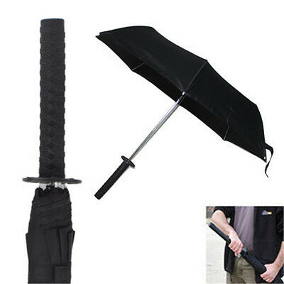Katana Kurosaki ichigo Sword Umbrella Cos Props Warrior Ninja Folding Umbrellas
