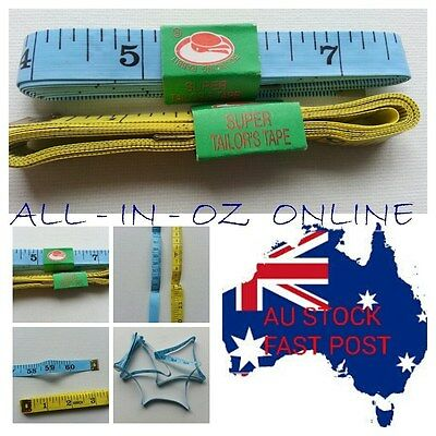 2 x Tailor Tape Measure Sewing Craft Dressmaking 150cm 60 Inch