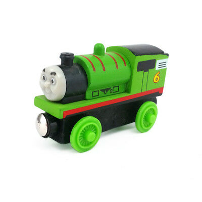 Thomas & Friends NO.6 Percy Magnetic Wooden Toy Train Loose New In Stock