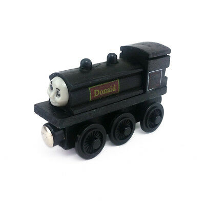 Thomas & Friends Donald Magnetic Wooden Toy Train Loose New In Stock
