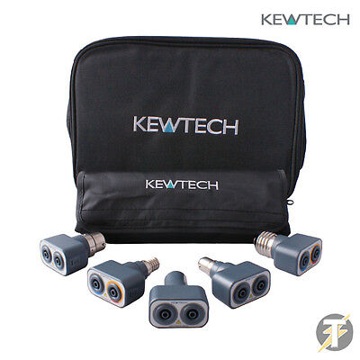 Kewtech Lightmate Light Testing Kit/Tester Adaptor Kit & Accessory/TK1 Case