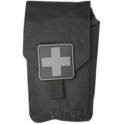 Viper Emergency Medical First Aid Kit Hiking Travel Bushcraft Safety Pouch Black