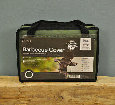Premium Heavy Duty UV Stabilised Waterproof Wagon Trolley BBQ Barbeque Cover
