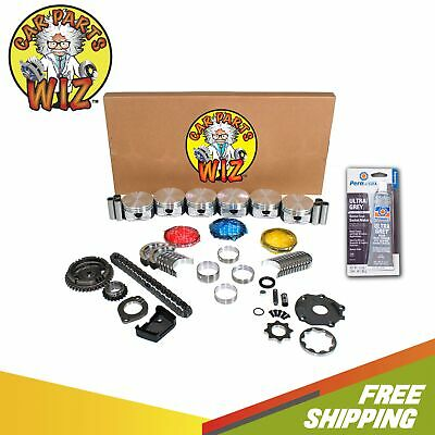 DNJ EK1134 Engine Rebuild Kit For 04-08 Dodge Grand Caravan Pacifica 3.8L V6 OHV