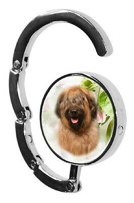 Briard Dog Table Bag Handbag Purse Hanger Hook-1 by paws2print