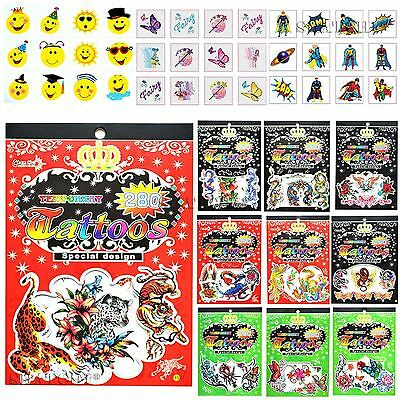 Kids Tattoo Temporary, Removable for Kids, party, Fun Toys, Loot bag Fillers