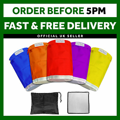 5 Gallon Bubble Ice Bag 5PCS Filtration Wine Herbal Extraction Press Mat Kit
