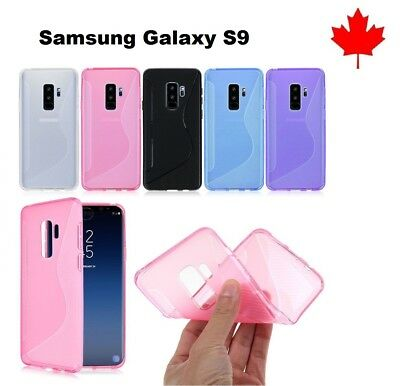For Samsung GALAXY S9 (SM-G960W) TPU Silicone Rubber Soft Gel Case Cover