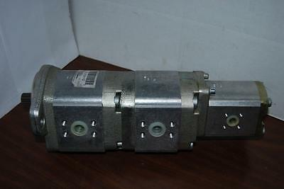 Rexroth Triple Hydraulic Gear Pump 1518-222-067, 1518-222-065, 1518-222-059 NEW