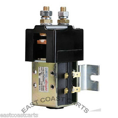 EZGO, Club Car, Yamaha Golf Cart Heavy Duty Curtis #SW80 36 Volt Solenoid