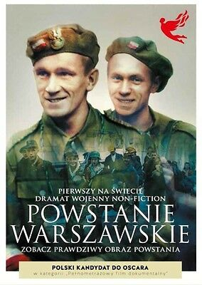 Warsaw Uprising 1944  NON -FICTION DOCUMENTARY,  [DVD] (English subtitles)