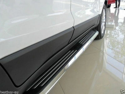 Black Aluminum Side Steps/Running Board For Jeep Grand Cherokee 2011-2015