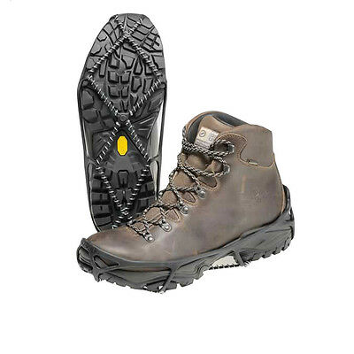 Yaktrax Walker Mens Womens Black Outdoors Hiking Shoe Boots Snow Ice Grips