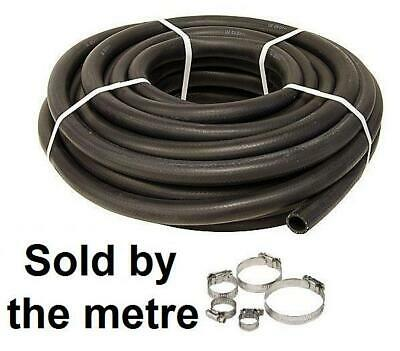 """Epdm 10mm 3/8"""" Flexible Rubber Heater Radiator Coolant Engine Water Pipe +Clips"""