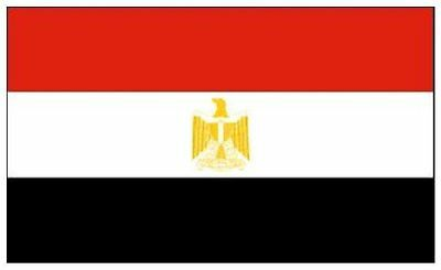 Egyptian Egypt National Flag 5x3 Feet Worldcup Sports Event Football Support