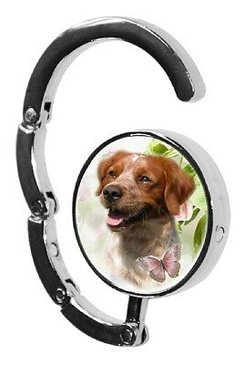Brittany Dog Table Bag Handbag Purse Hanger Hook-1 by paws2print