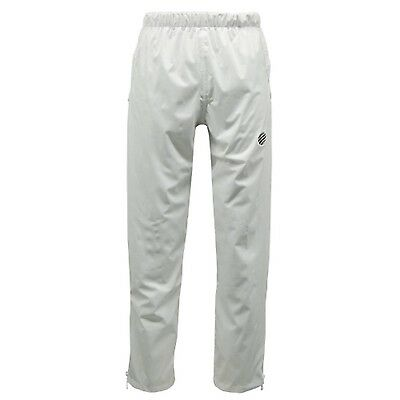 100% Polyester Unisex White Mesh Lined Waterproof Breathable Sports Over Trouser